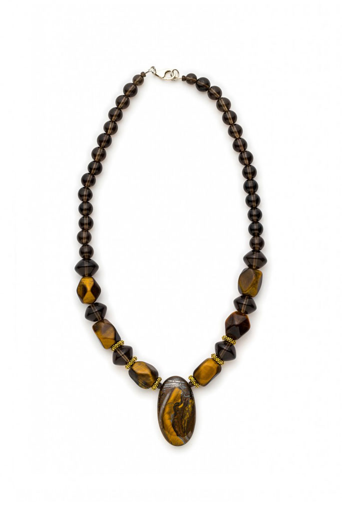 Rare find cabochon Tiger's Eye Pendant