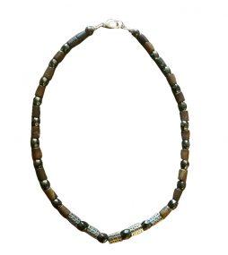 Australian Ironstone Necklace, Men's Necklace, Men's Designer Necklace, Sterling silver Necklace, Statement Necklace