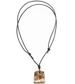 Opal Necklace, Leather Jewelry, Opal Jewelry, Mens Jewelry