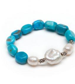 PearlTurquoisebracelet