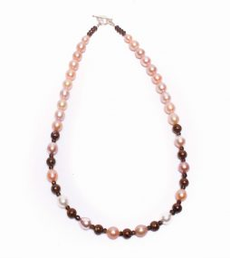 Australian Opal necklace, Pearl Necklace, Jewelry,